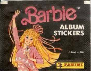 Barbie Panini Stickers