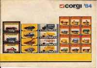 Corgi Catalogue 1984
