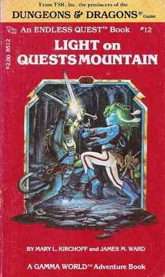 Dungeons & Dragons : Endless Quest 12 - Light On Quests Mountain