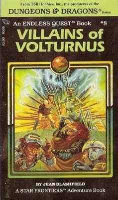 Dungeons & Dragons : Endless Quest 8 - Villains Of Volturnus