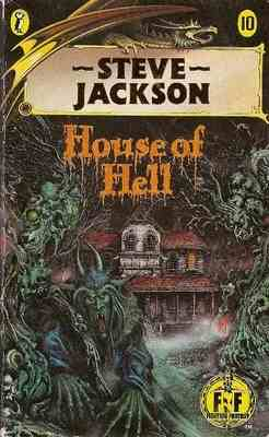 Fighting Fantasy Game Book 10 - House Of Hell