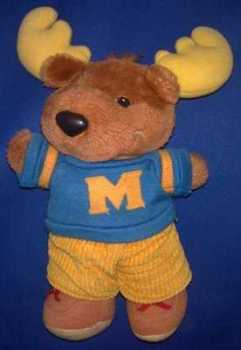 "Get Along Gang - Montgomery ""Good News"" Moose Plush Soft Toy"