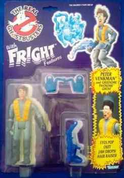 The Real Ghostbusters - Fright Features Peter Venkman Figure - NEW