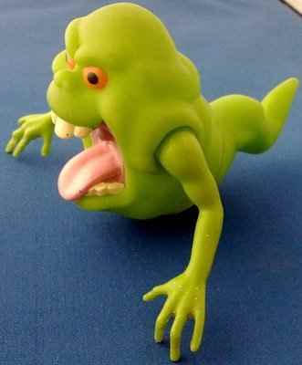 The Real Ghostbusters - Slimer Figure