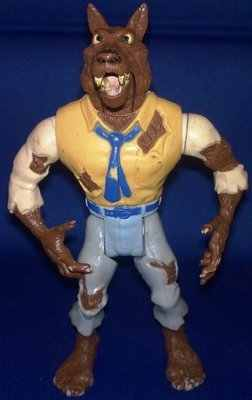The Real Ghostbusters - Wolfman Monster Figure