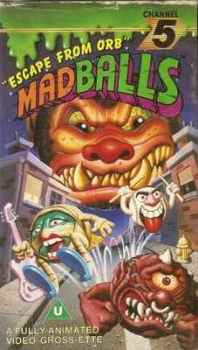 "Madballs : ""Escape From Orb"" - VHS - RARE"