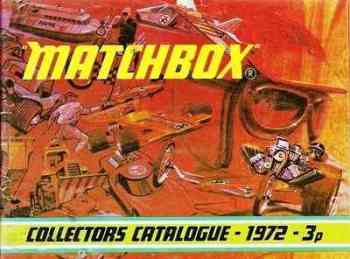 Matchbox Catalogue 1972