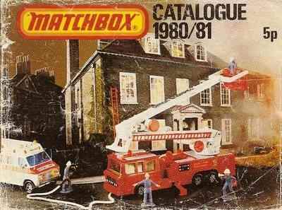 Matchbox Catalogue 1980/81