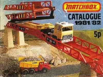 Matchbox Catalogue 1981/82
