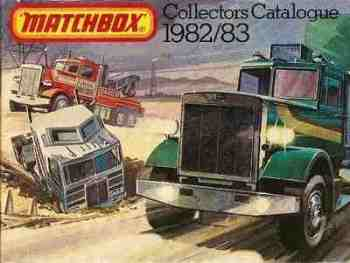 Matchbox Catalogue 1982/83