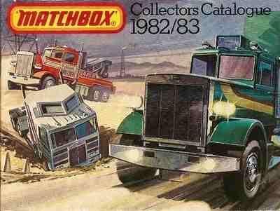 Matchbox Catalogue 1982/83