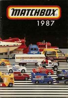 Matchbox Catalogue 1987