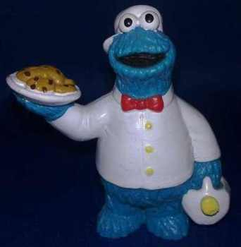 Sesame Street - Cookie Monster PVC Figure