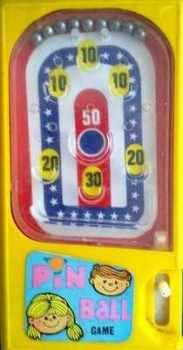 Stars & Stripes Pinball  - Yellow (Pocketeer Clone)