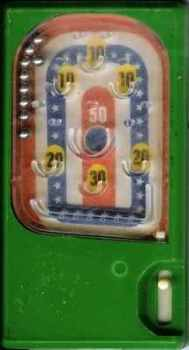 Stars & Stripes Pinball  - Green (Pocketeer Clone)