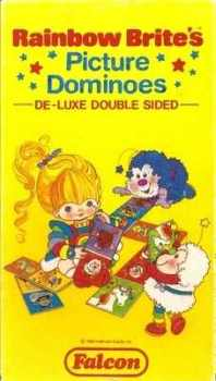Rainbow Brite Double-Sided Picture Dominoes - Falcon - 1983 - RARE
