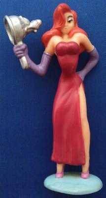 Roger Rabbit - Jessica Rabbit PVC Figure - RARE