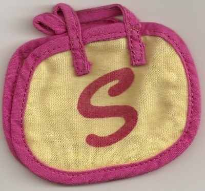 Sindy Pink And Yellow 'S' Bag