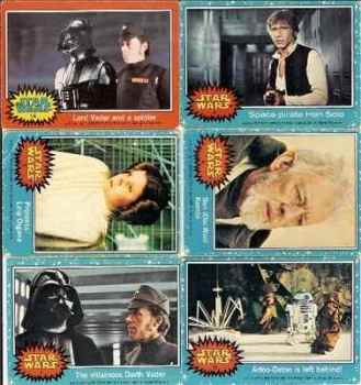 Star Wars Trading Cards (Set 1)