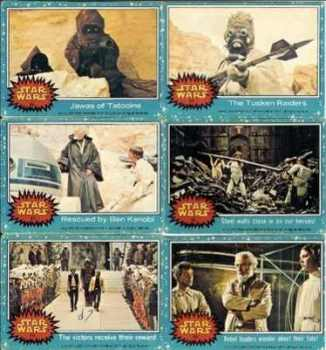 Star Wars Trading Cards (Set 2)