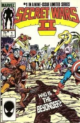 Secret Wars II - Issue 1 - RARE