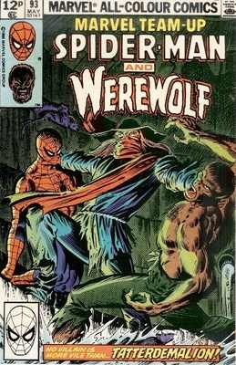 Spiderman And Werewolf - May 1980 - Issue 93