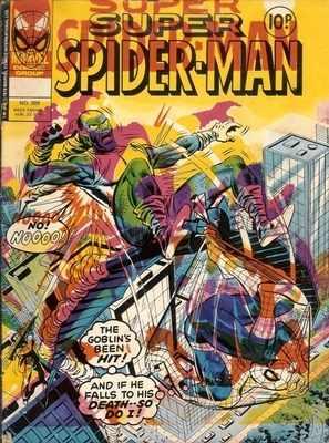 Super Spiderman - August 1978 - RARE MISPRINT