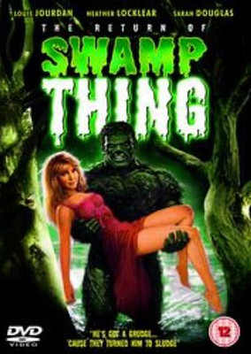The Return Of The Swamp Thing - DVD