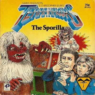 Terrahawks Storybook - The Sporilla