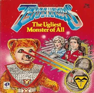 Terrahawks Storybook - The Ugliest Monster Of All