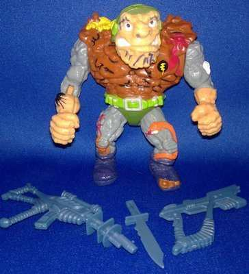 Teenage Mutant Ninja Turtles - General Traag Figure - COMPLETE