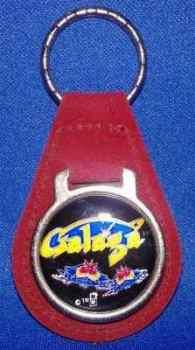 Galaga Keyring