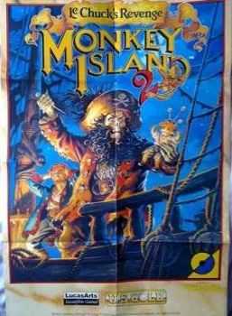 Monkey Island 2 Poster