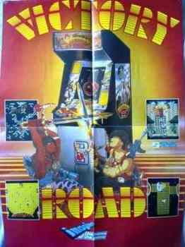 Victory Road Poster - Imagine - SNK - RARE