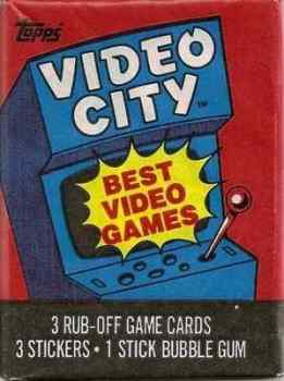 Video City Cards And Stickers