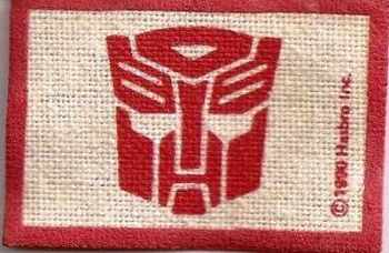 Transformers - Autobots Sew-on Patch