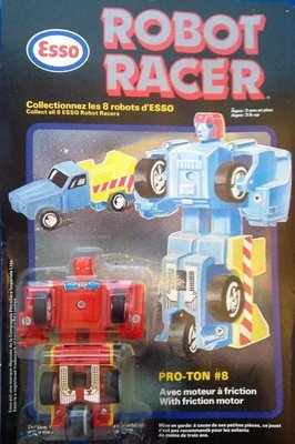 Esso Robot Racer - Pro-ton (Transformers Clone) - NEW