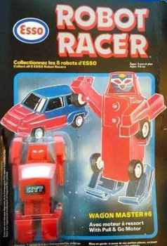 Esso Robot Racer - Wagon Master (Transformers Clone) - NEW