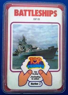 Top Trumps - Battleships (Series 2) [red case]