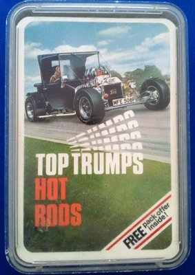 Top Trumps - Hot Rods (Series 4) [grey case]