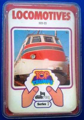 Top Trumps - Locomotives (Series 2) [red case]