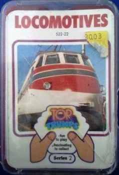 Top Trumps - Locomotives (Series 2) [red case cc]