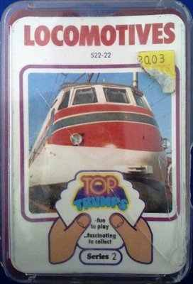 Top Trumps - Locomotives (Series 2) [red case cc]