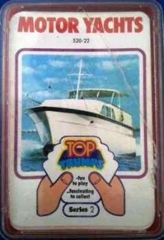 Top Trumps - Motor Yachts (Series 2) [red case]