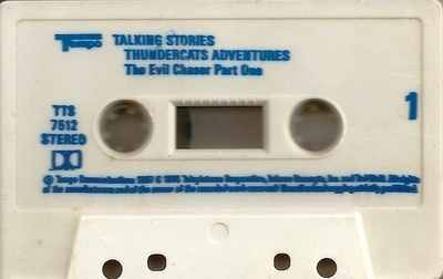 Thundercats Story Tape - The Evil Chaser