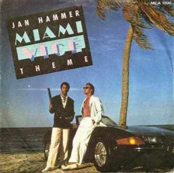 "Jan Hammer - Miami Vice Theme - 7"" Vinyl Single - 1985"