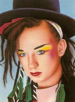 Scott Wilson - Boy George Postcard