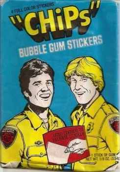 CHiPs Stickers - NEW