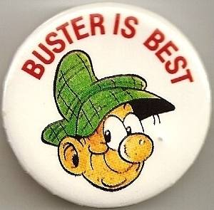 Buster Is Best Badge