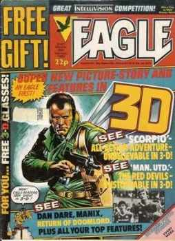 Eagle - 26th February 1983 - RARE 3D Issue